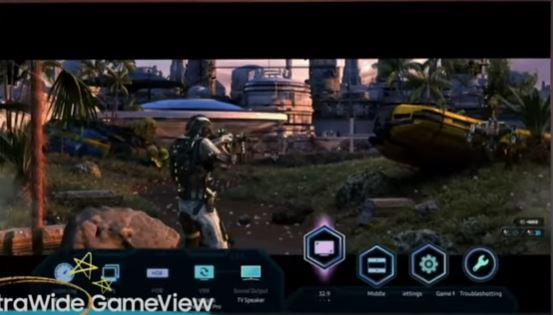 Super Ultrawide GameView 32:9